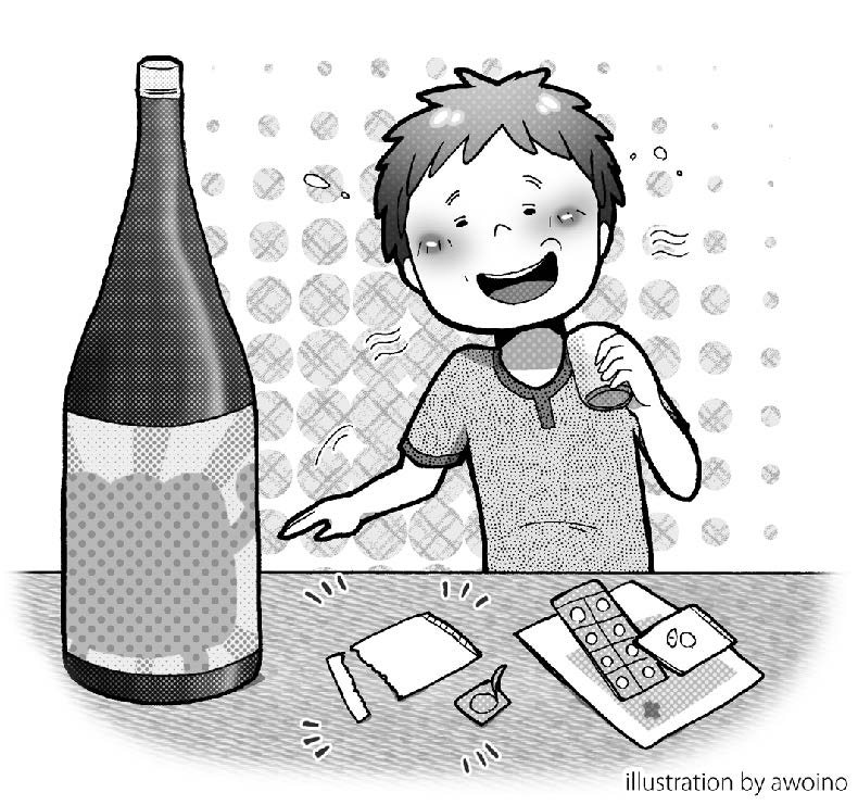 物質 合わせ 抗生 酒 飲み